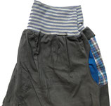 piratenhose bio, small, grau