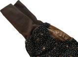 piratenhose 110-134, mit piratentaschen, muster dunkelblau
