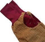 piratenhose 110-134, mit piratentaschen, cord sand