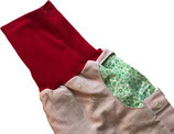 piratenhose 110-134, mit piratentaschen, rot weiß gestreift