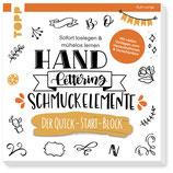 Handlettering Schmuckelemente Buch