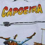 Pantalón Capoeira  Blanco Estampado 2