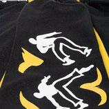 Pantalón Capoeira  Negro Estampado 2