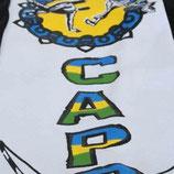 Pantalón Capoeira  Negro Estampado 1