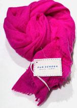 Pur Schoen Kaschmirschal gefilzt, pink