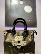 Painted Louis Vuitton Collection | Philip Karto Mickey Mouse