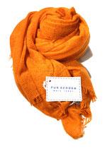 Pur Schoen Kaschmirschal gefilzt, neon orange