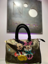 Painted Louis Vuitton Collection | Philip Karto Mickey Mouse Love