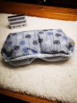 Kinderwagenmuff aus Softshell blau
