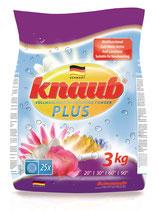 KNAUB®  Plus Vollwaschmittel 3 kg