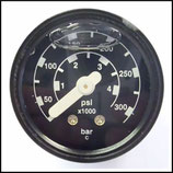 ♦ Manometer 40 mm mit Innengewinde