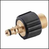 ♣ Messing Adapter Top Craft Schlauch auf Kärcher Geräte Hochdruck Steckanschluss.