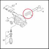 Federset 3 Stück für Gerät mit Alu Pumpenkopf