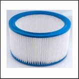 ♣ Rundfilterpatrone PET, Filterklasse M, Höhe 185 mm.