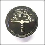 ♣ Manometer 300 Bar / 40 mm