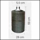♦ Heizschlange 590 / 280 mm passend Kärcher HDS
