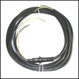 ♥ 400 V Kabel mit Tülle für CEE Stecker
