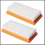 """♣ Filterset (2 St) Attix 30, 40 und 50 XC in der Ausführung """"H"""" und Asbest"""