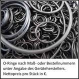 ♦ O-Ring nach Kundenangabe (Maße oder Bestellnummer)