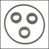 ♥ Öl-Dichtungsset Pumpe HDS 1210, HDS 1290, HDS 1250, HDS 1390, HDS 1590, HDS 1290 ST, HD 16/15 mit 4-Rad Gestell und Taumelscheibenpumpe.