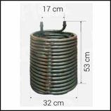 ♦ Heizschlange 530 / 320 mm passend Kärcher HDS