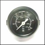 """♥ Manometer 0-315 Bar 41 mm """"Klick"""" für Frontblende"""
