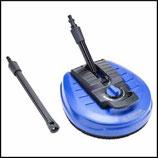 ♦ Power Patio Cleaner komplett mit Verlängerung