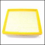 ♦ Flachfaltenfilter Papier mit Metallverstärkung