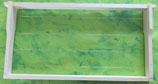 Rähmchen mit Hoffmann Seitenteilen für Zander, waagrecht gedrahtet