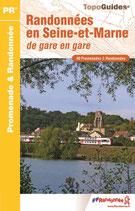 TOPOGUIDE > Randonnées en Seine-et-Marne de gare à gare