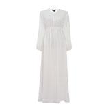 Hazel Maxi Kleid Weiß