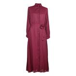 Suhaila Maxi Kleid Rot