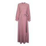 Mariyah Maxi Kleid dunkelrosa