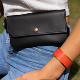 Pochette ceinture Noir