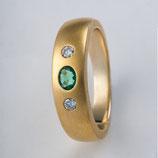 Bandring 585 Gelbgold