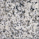 Mauerabdeckung Granit grau Bianco Sardo poliert