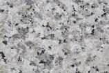 10m² Granit Bodenplatten Bianco Sardo geflammt und gebürstet