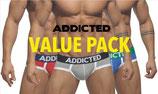 ADDICTED Three Pack Basic Brief