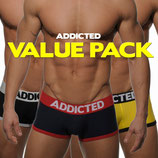 ADDICTED Three Pack Basic Boxer