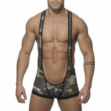 ADDICTED Bottomless Singlet Army
