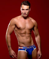 Andrew Christian BLOW! Patriot Brief Almost Naked