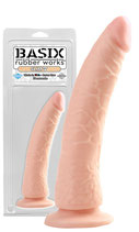 Basix Rubber Works Slim 7 Dildo