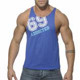 ADDICTED Low Rider 69 Shirt royal blue