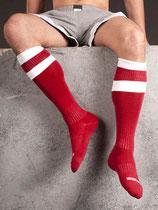 Barcode Berlin Football Socks rot-weiss