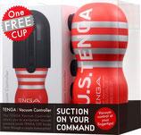 Tenga Cup Vacuum Controller & Tenga Deep Throat Cup US