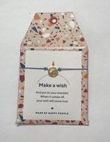 Wunsch-Armband gold