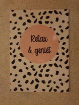 Kaart: relax & geniet
