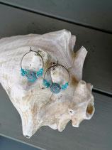 Kinder Ohrringe Aqua