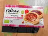 Tartelettes framboises Céliane