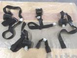 Occasion Lot de ceinture 16s noire ( boucles abîmées)
